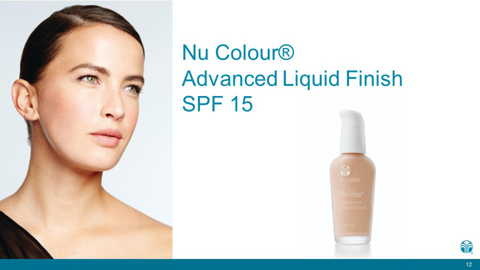 12 Nu Colour® Advanced Liquid Finish SPF 15