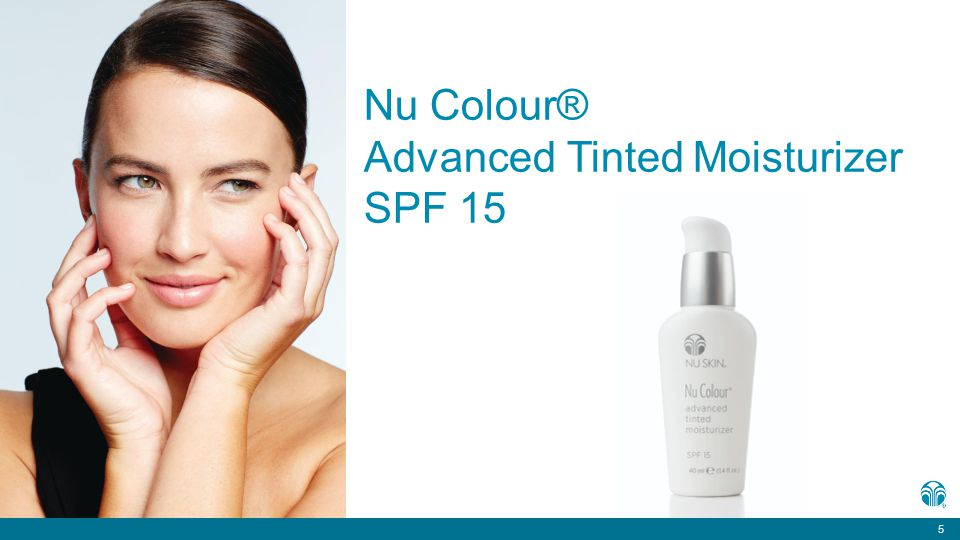 5 Nu Colour® Advanced Tinted Moisturizer SPF 15