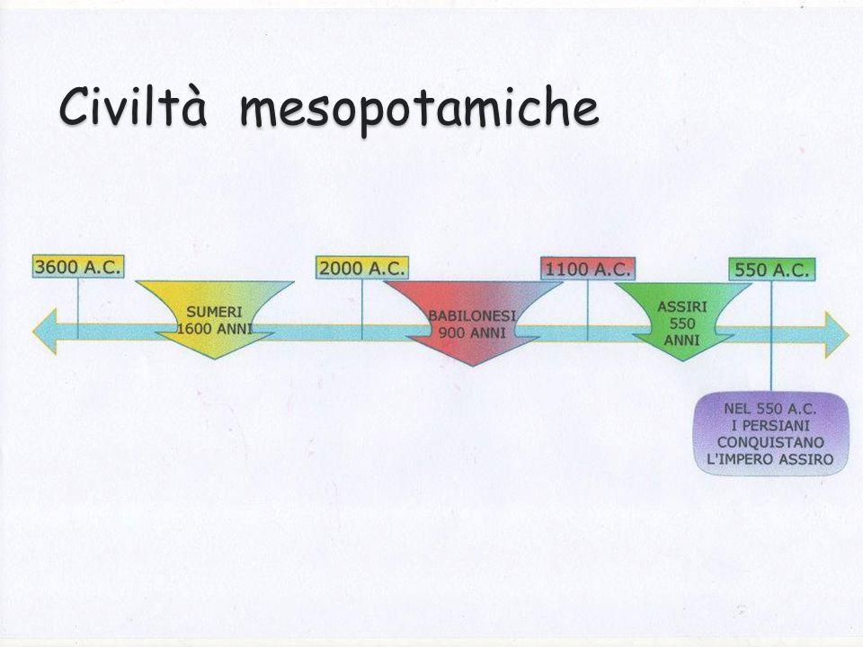 Civiltà mesopotamiche
