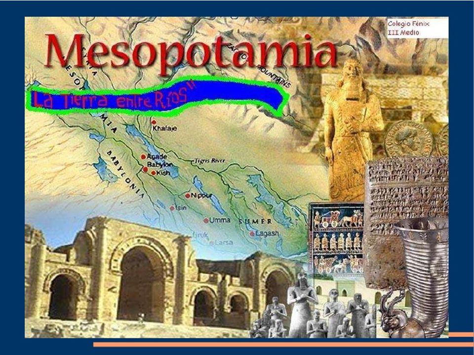 La vita in Mesopotamia era dominata da quattro elementi: il cielo infinito, il vento, la terra, le acque.