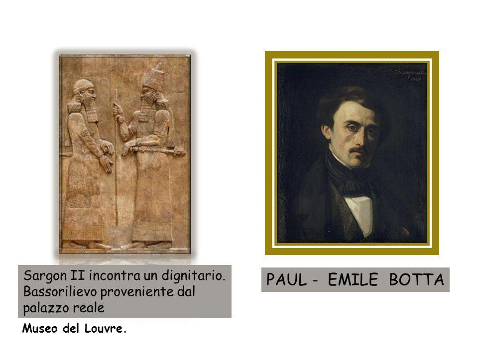 Museo del Louvre. PAUL - EMILE BOTTA