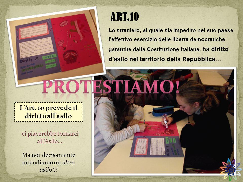 Lo straniero, al quale sia impedito nel suo paese l'effettivo esercizio delle libertà democratiche garantite dalla Costituzione italiana, ha diritto d