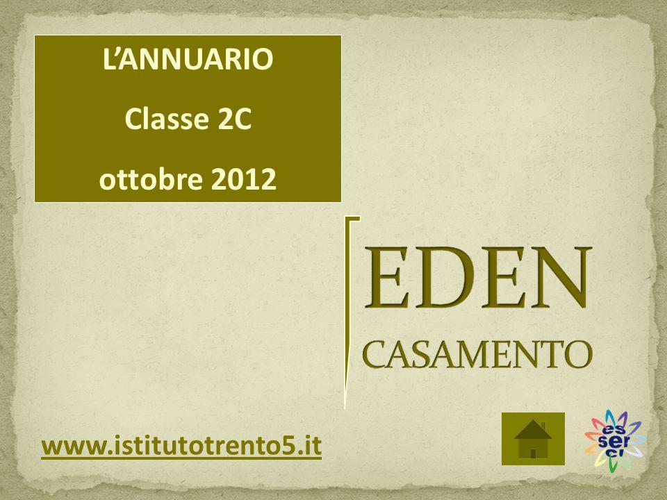 L'ANNUARIO Classe 2C ottobre 2012 www.istitutotrento5.it