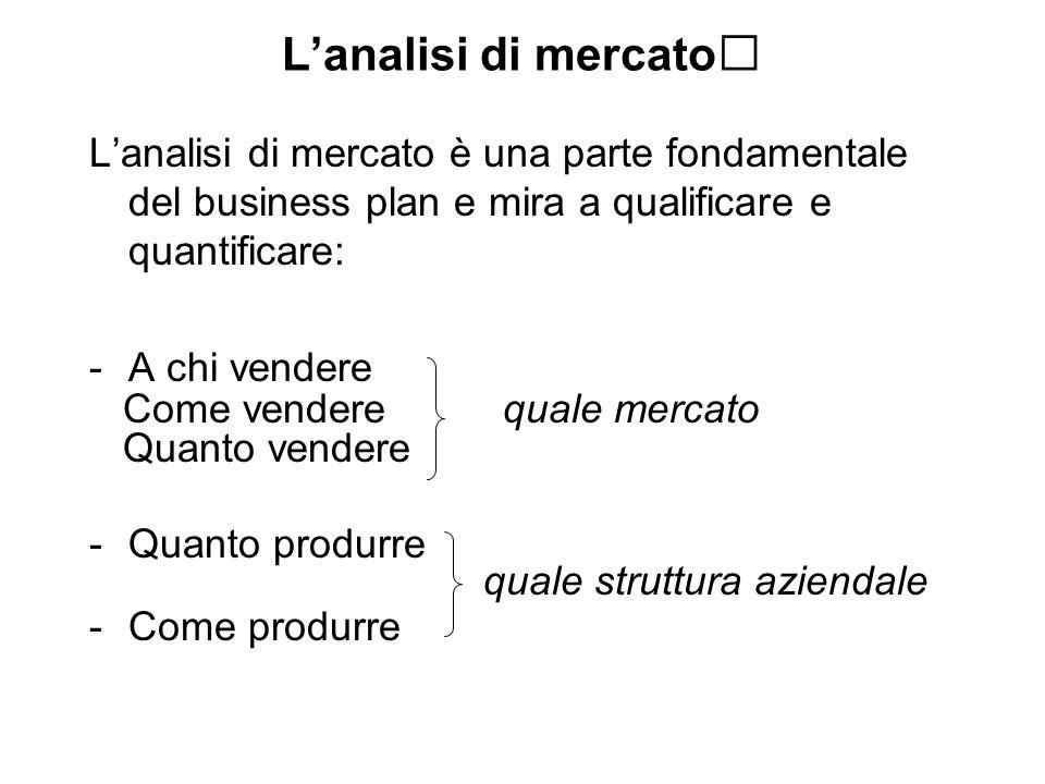 Il piano delle immobilizzazioni materiali e immateriali (struttura tecnico produttiva) La definizione delle q da produrre permette di determinare la dimensione della impresa.