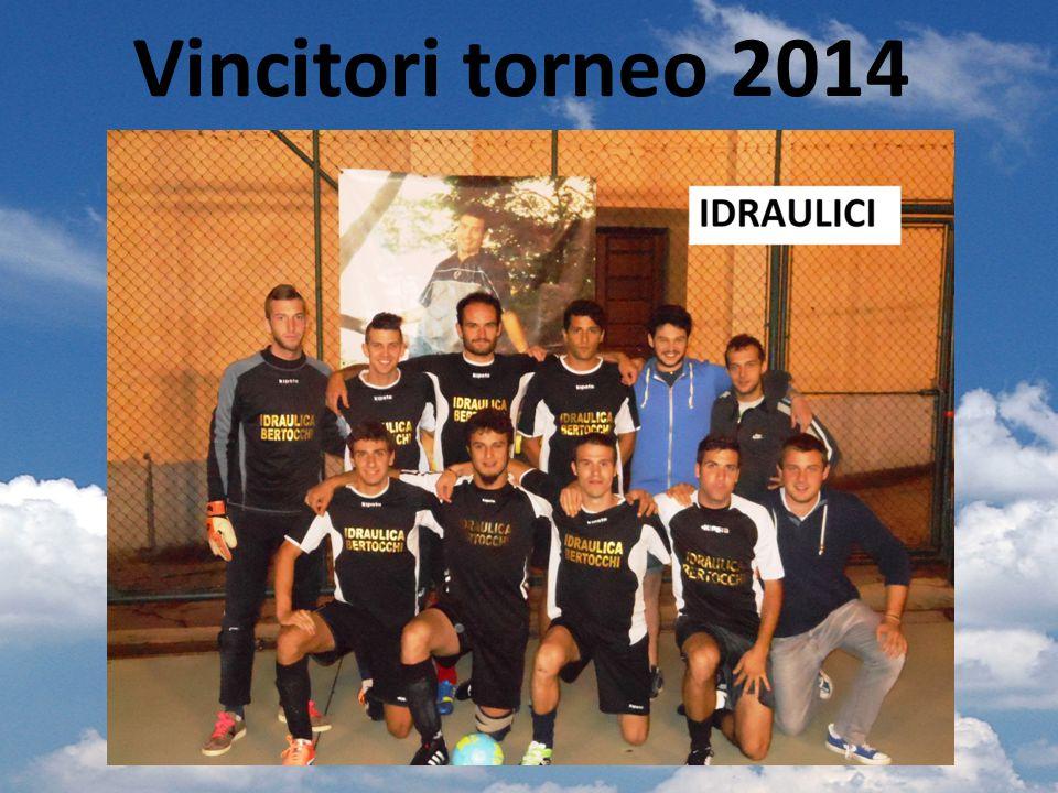 Vincitori torneo 2014