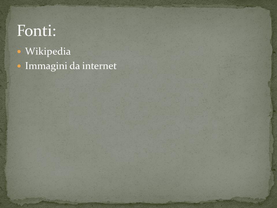 Wikipedia Immagini da internet