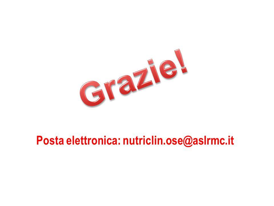 Posta elettronica: nutriclin.ose@aslrmc.it