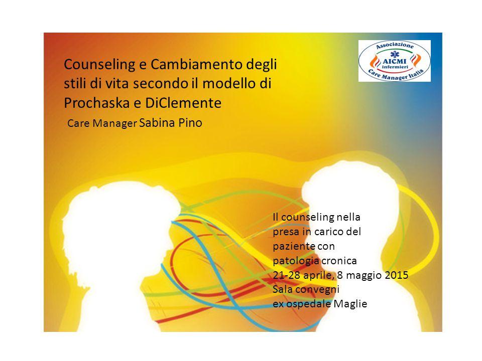 IL counseling in ambito ambulatoriale è un approccio vincente per incoraggiare e sostenere i pazienti a compiere scelte decisive per la propria salute