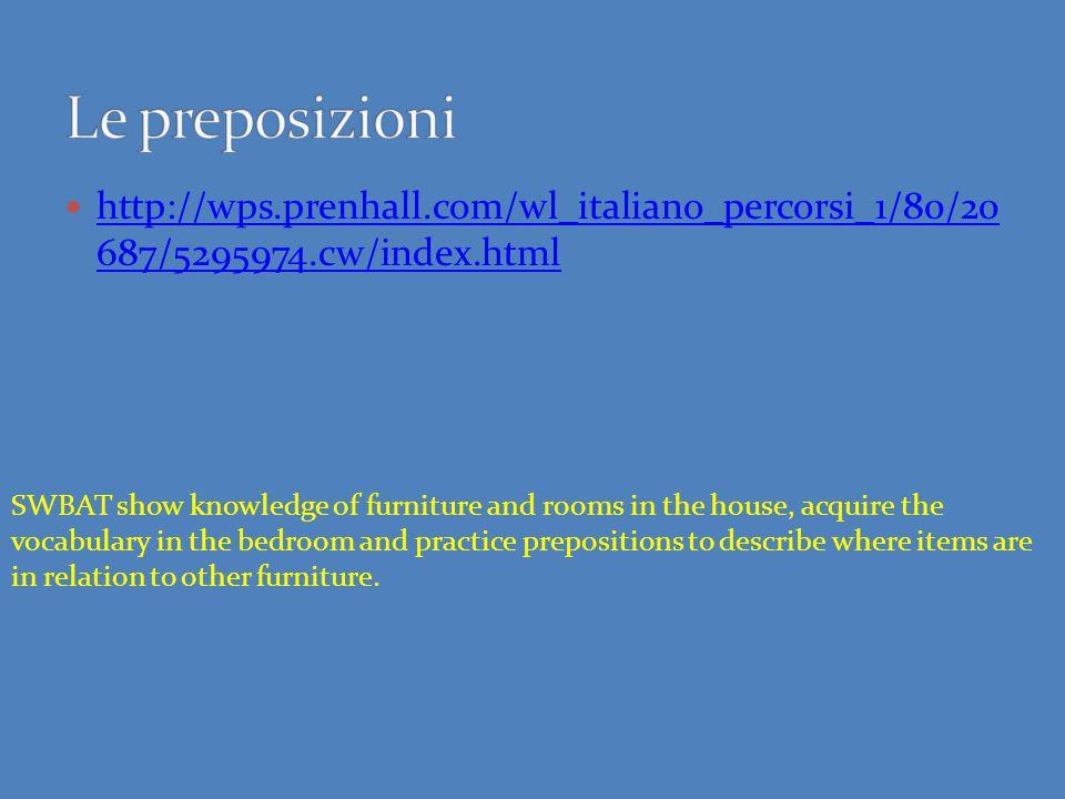 http://wps.prenhall.com/wl_italiano_percorsi_1/80/20 687/5295974.cw/index.html http://wps.prenhall.com/wl_italiano_percorsi_1/80/20 687/5295974.cw/ind