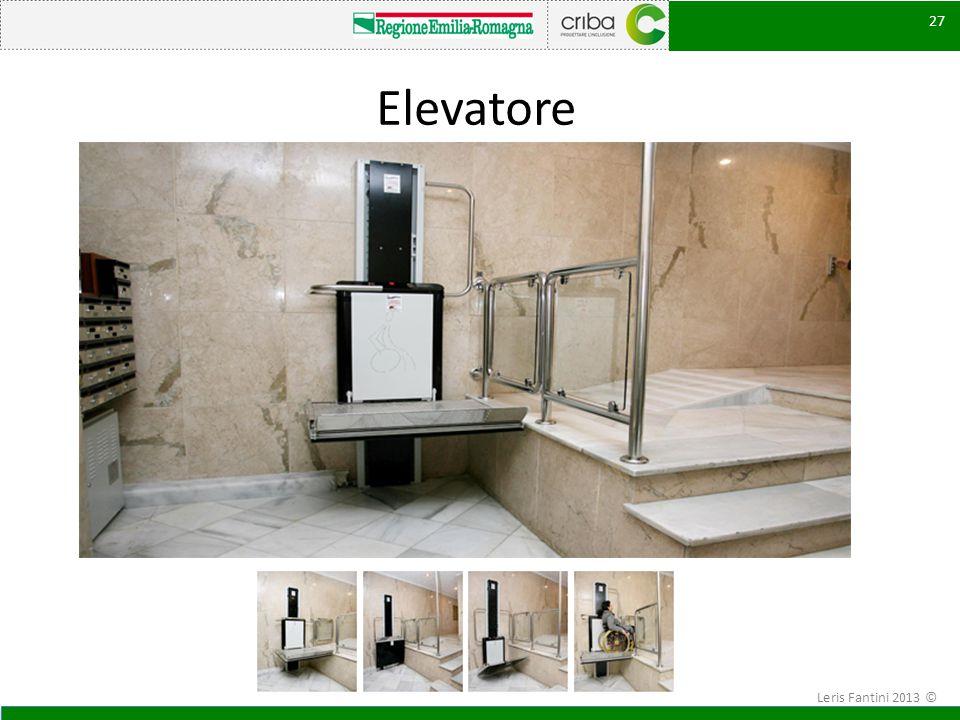 Elevatore 27 Leris Fantini 2013 ©