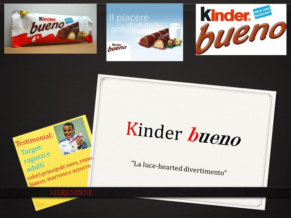 Kinder Bueno La pubblicità dice……la realtà dice Un piacere in ogni morso.