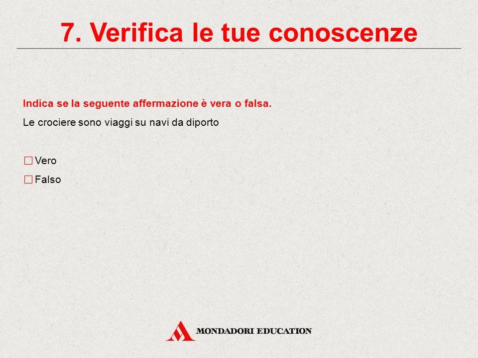 7. Verifica le tue conoscenze Abbina i tipi di treno alla descrizione corrispondente Elettrotreno A potenza concentrata Automotrice elettrica Automotr