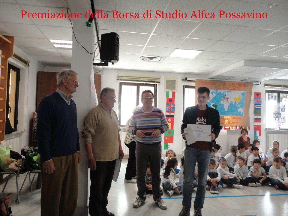 Premiazione della Borsa di Studio Alfea Possavino