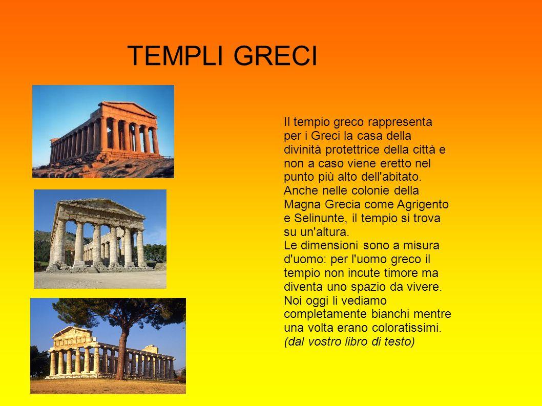 ORDINI ARCHITETTONICI NELL ARCHITETTURA GRECA I greci a seconda dell epoca e della zona geografica, hanno creato differenti forme e stili di decorazione.
