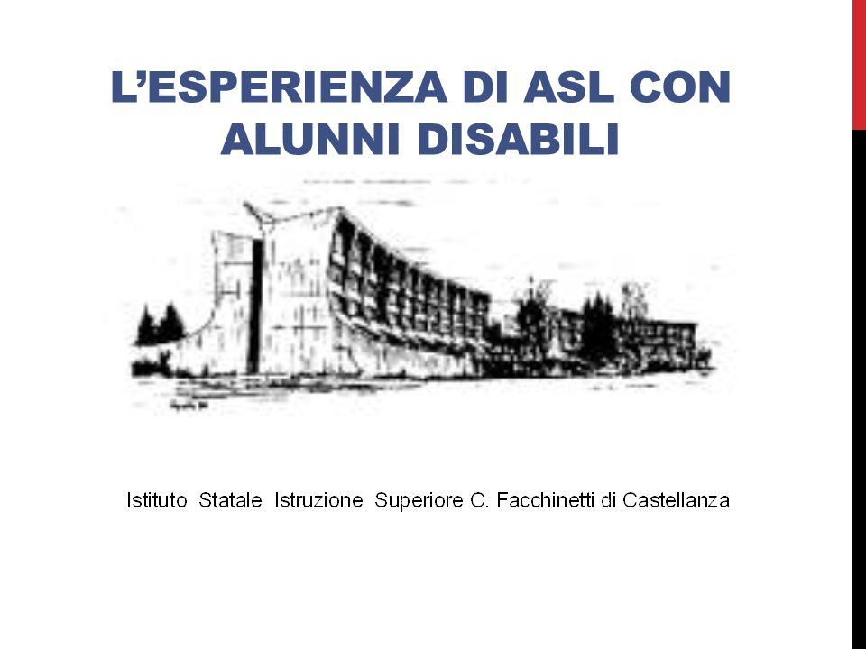 IL PUNTO DI PARTENZA D.Lgs n.77/2005 (art.