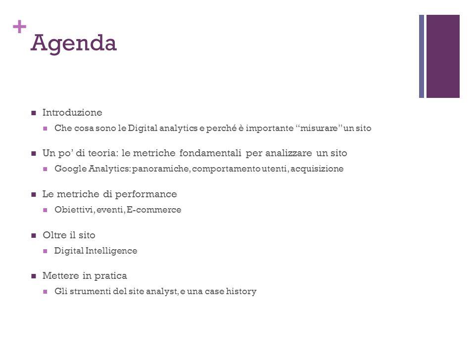 + Cosa sono le Digital Analytics Web Analytics: cosa sono.