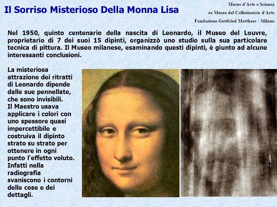 Nel 1950, quinto centenario della nascita di Leonardo, il Museo del Louvre, proprietario di 7 dei suoi 15 dipinti, organizzò uno studio sulla sua part