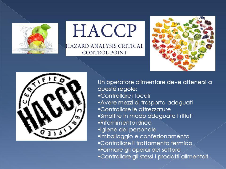 Misure e condizioni necessarie per controllare i pericoli e garantire l idoneità al consumo umano di un prodotto alimentare.