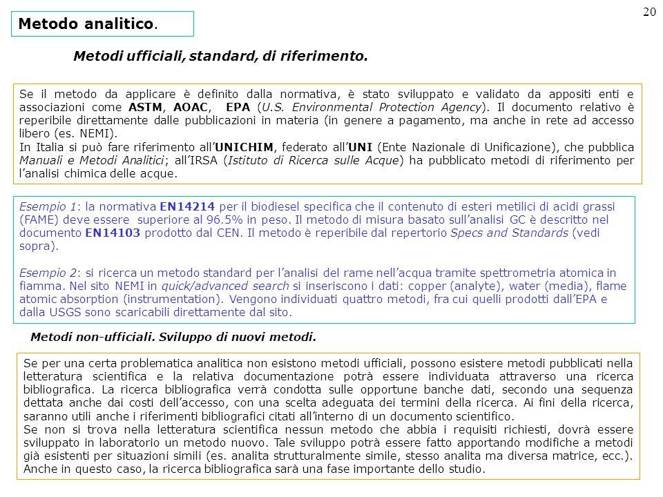 20 Metodo analitico.