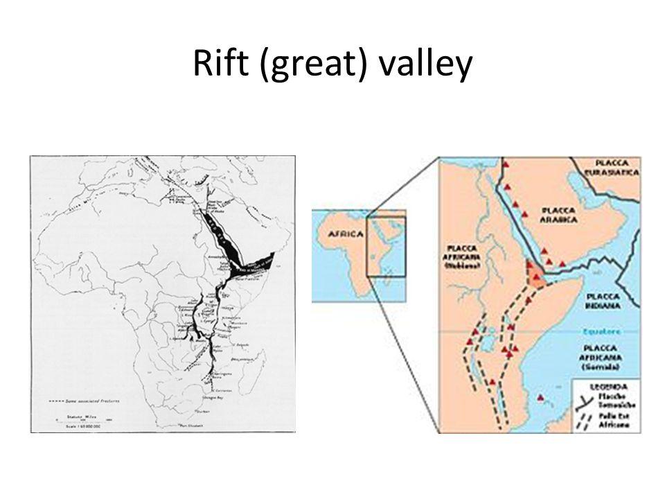 Rift (great) valley
