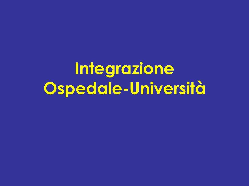 Integrazione Ospedale-Università