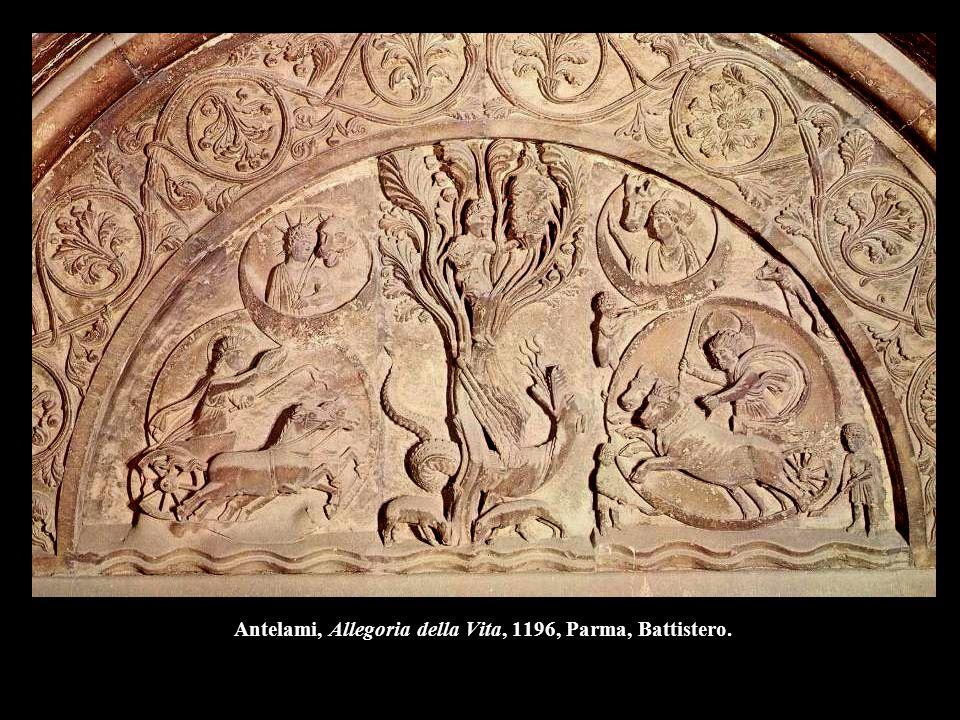 Antelami, Allegoria della Vita, 1196, Parma, Battistero.
