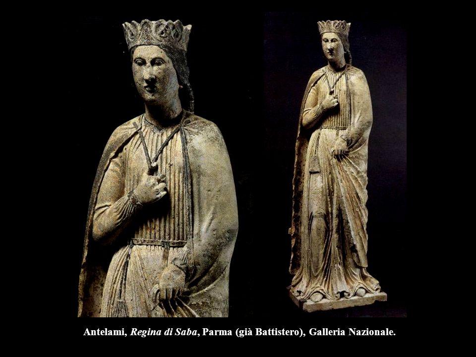 Antelami, Regina di Saba, Parma (già Battistero), Galleria Nazionale.