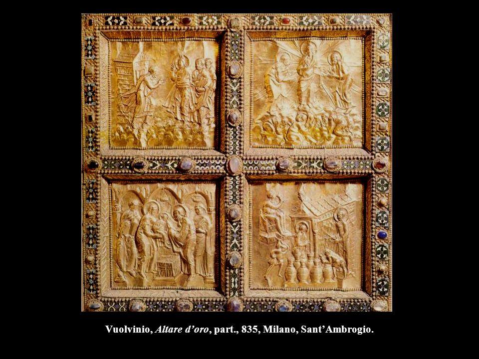 Vuolvinio, Altare d'oro, part., 835, Milano, Sant'Ambrogio.