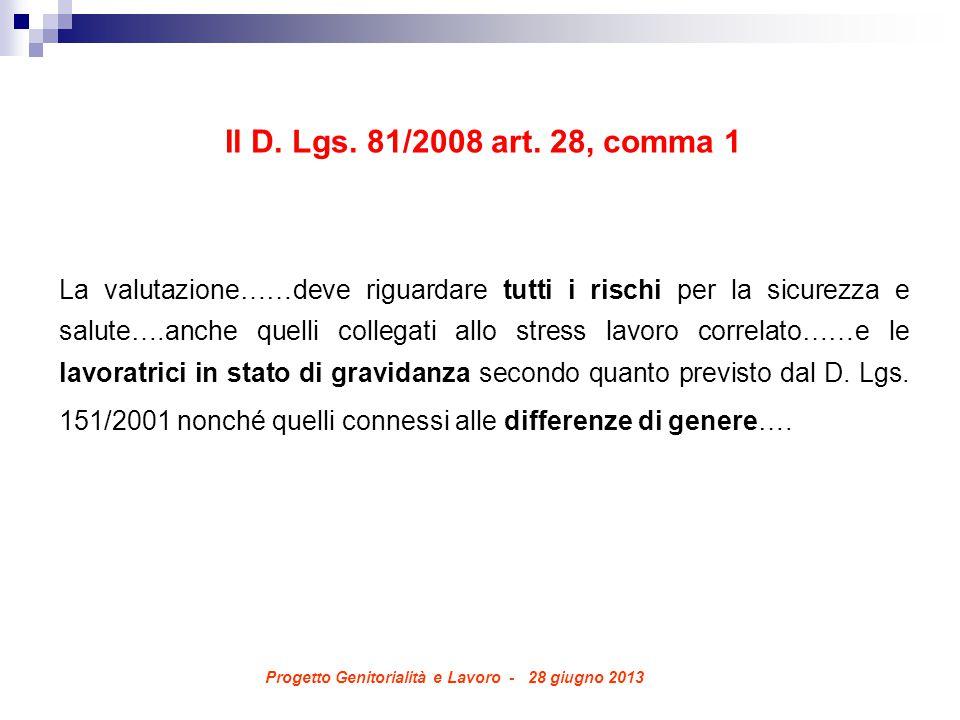 Il D. Lgs. 81/2008 art.