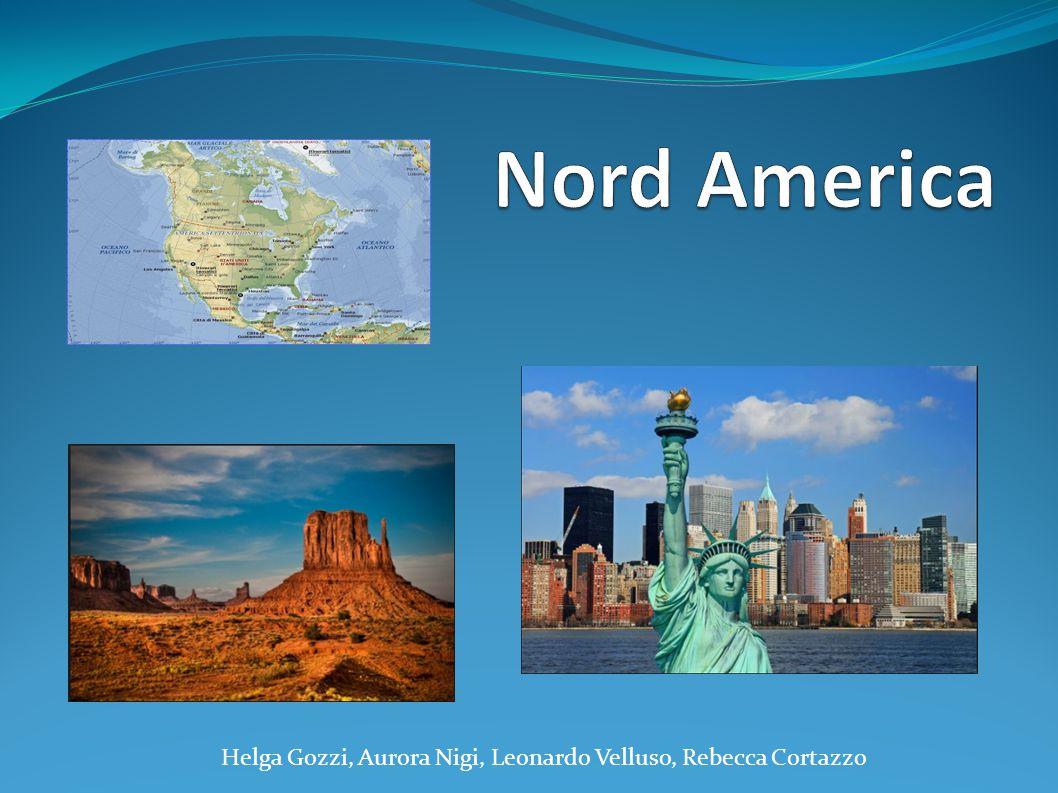 QUADRO ECONOMICO L'economia dell'America Settentrionale è la più forte al mondo.