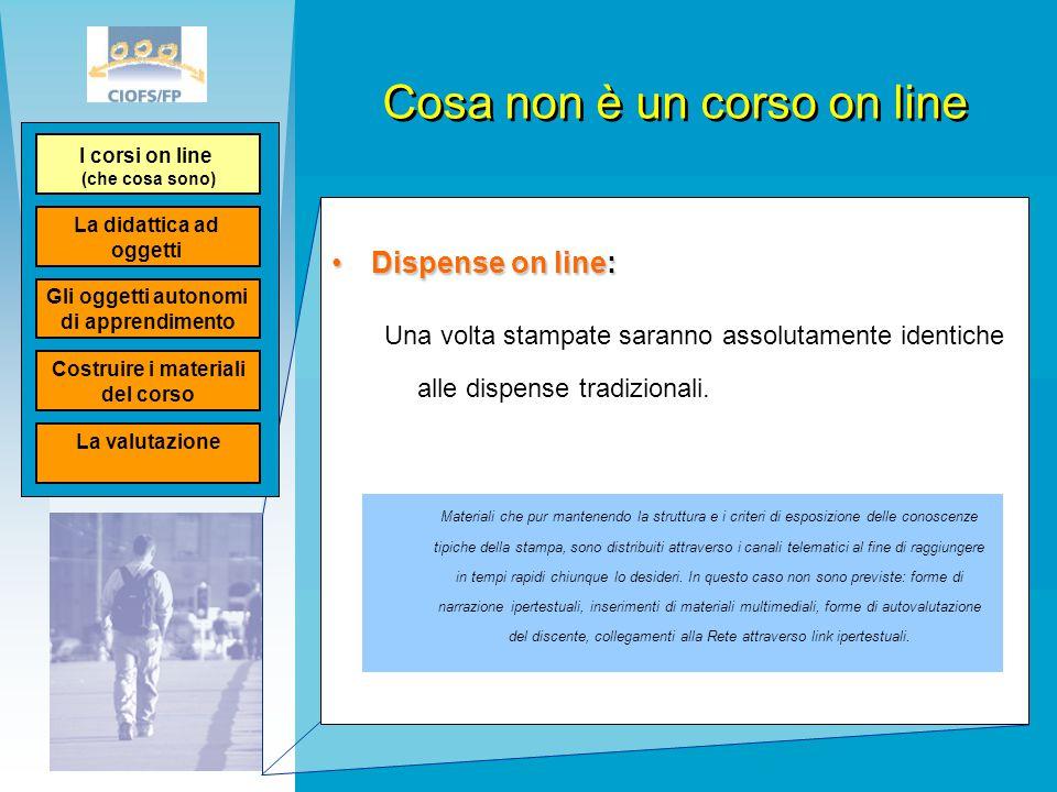 Tipologie di corsi on line Corsi integrativiCorsi integrativi Sono i corsi che costituiscono un supporto alla didattica in presenza.