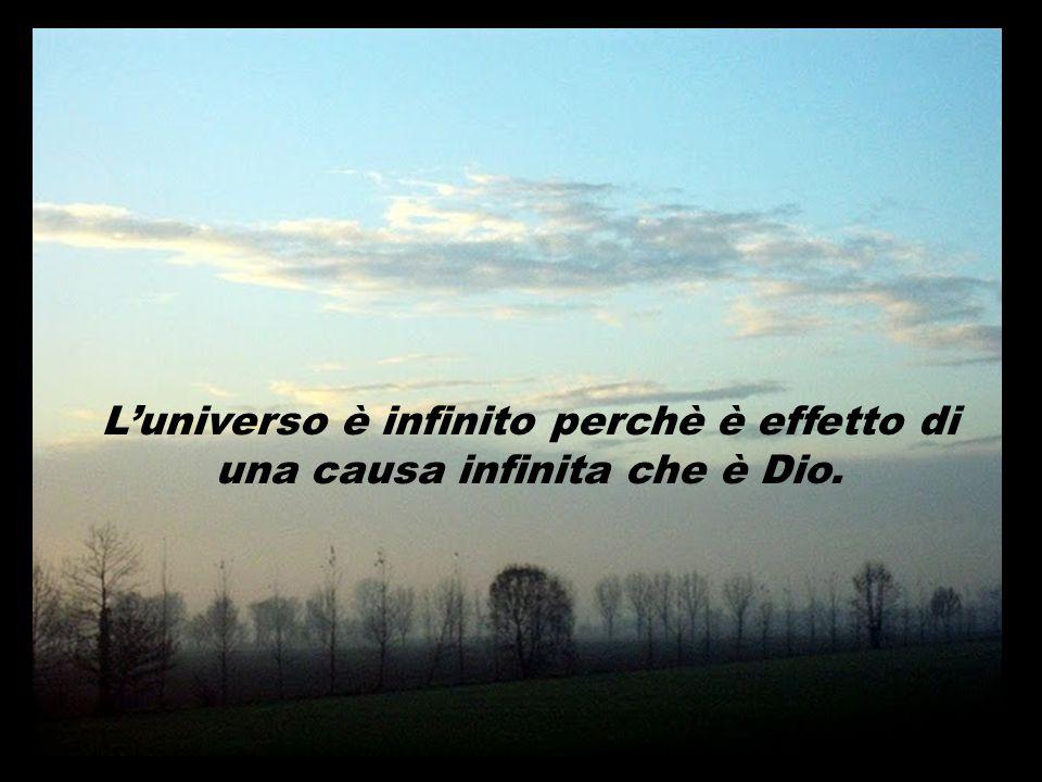 Come è possibile che l'universo sia finito? Come è possibile che l'universo sia infinito? Volete voi che si possa dimostrrare questa infinitudine? Vol