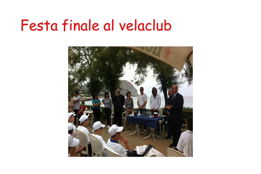 Festa finale al velaclub