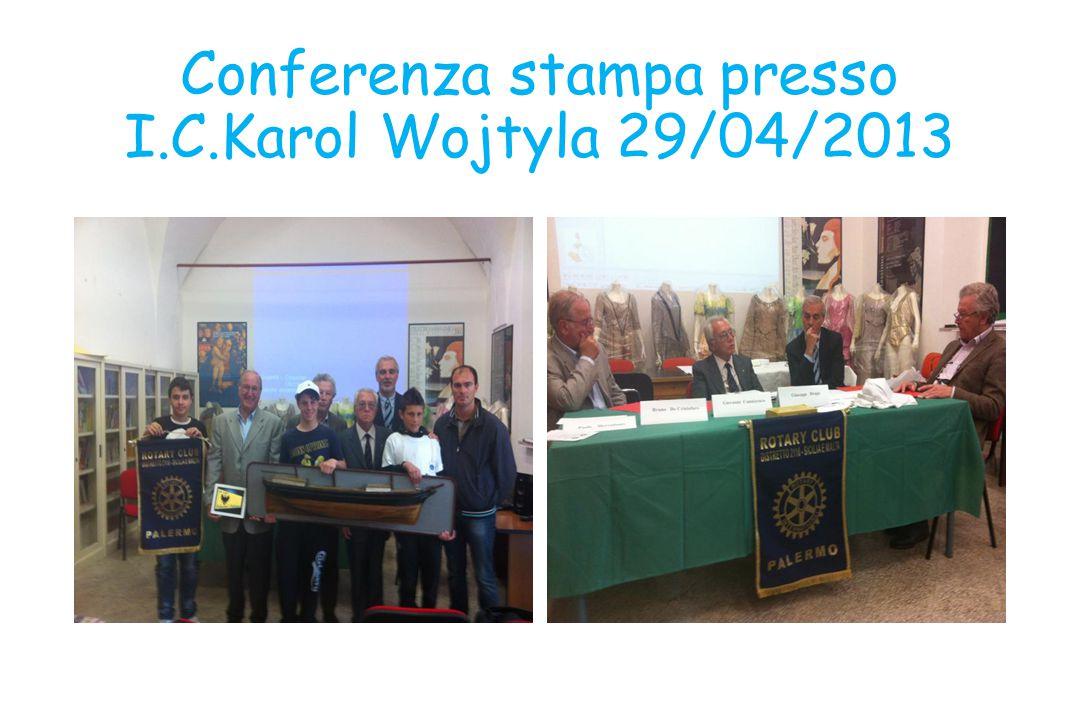 Conferenza stampa presso I.C.Karol Wojtyla 29/04/2013