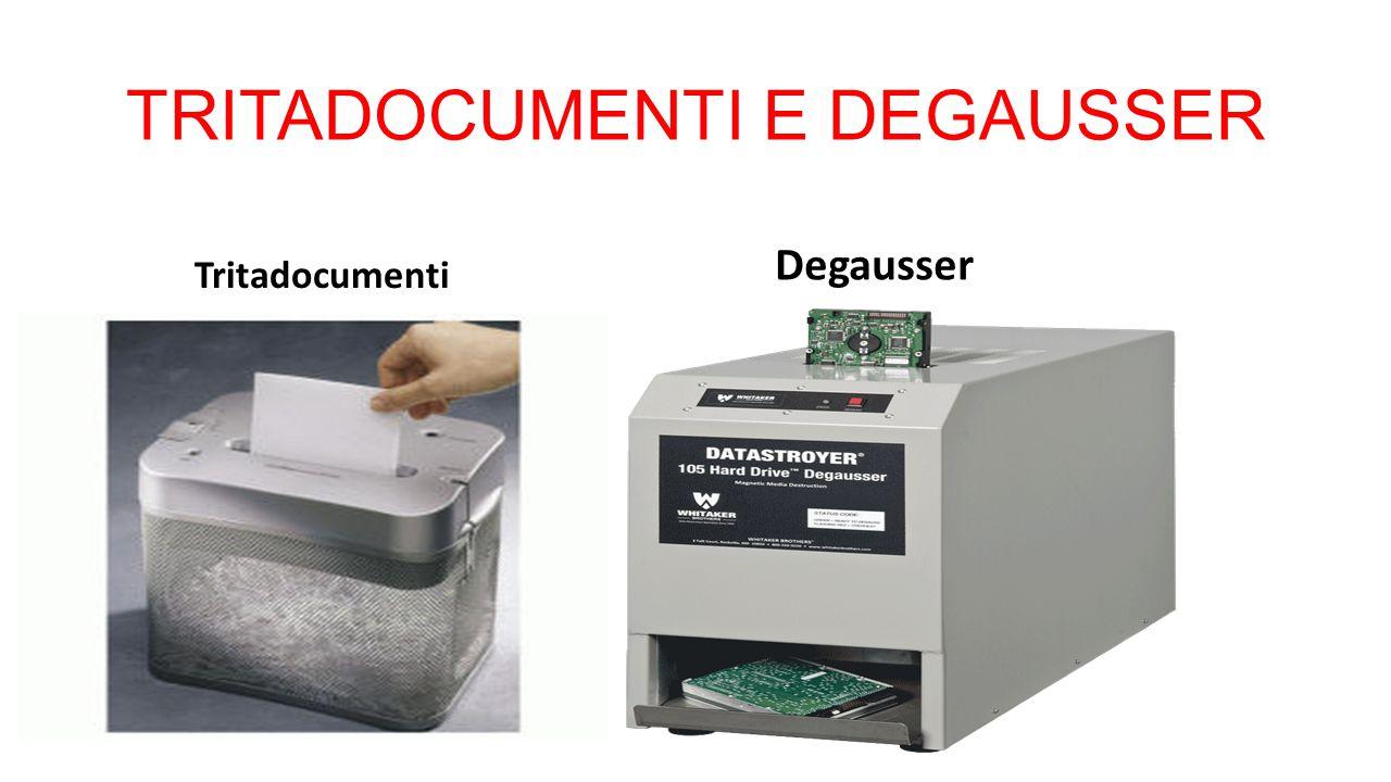 TRITADOCUMENTI E DEGAUSSER Tritadocumenti Degausser