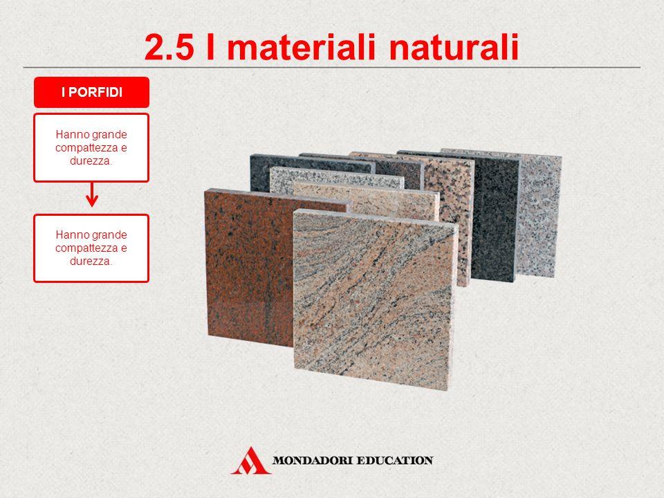 2.4 I materiali naturali Sono utilizzati per: pavimenti; rivestimenti di pregio. I CALCARI COMPATTI