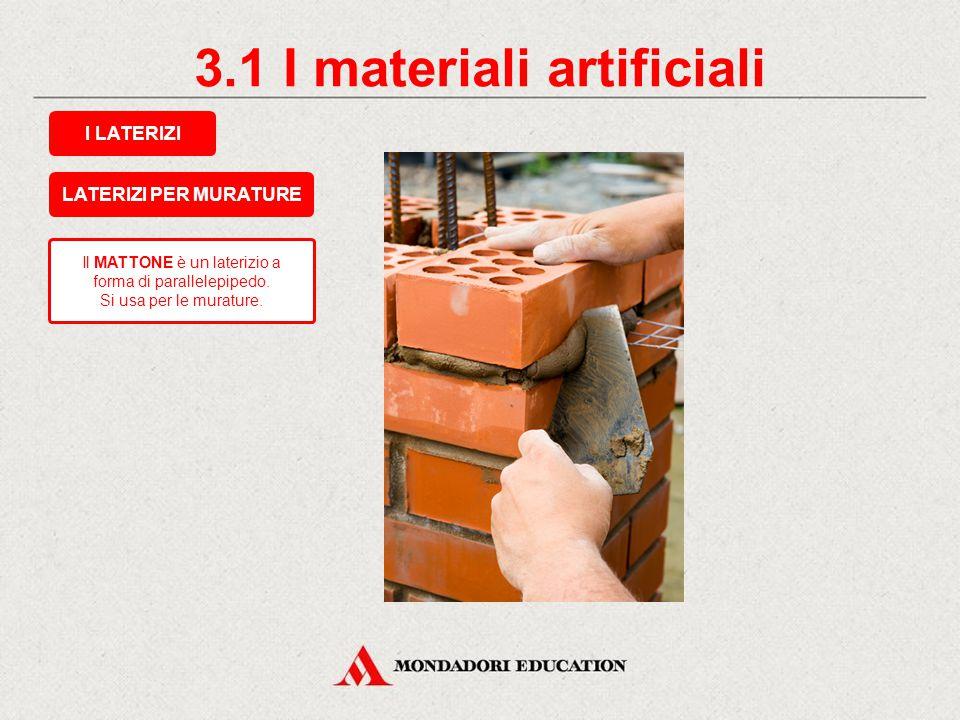 2.7 I materiali naturali LA GHIAIA Proviene dalla frantumazione della roccia compatta. È utilizzata per: opere di riempimento; preparazione del calces