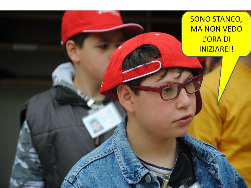 SONO STANCO, MA NON VEDO L'ORA DI INIZIARE!!