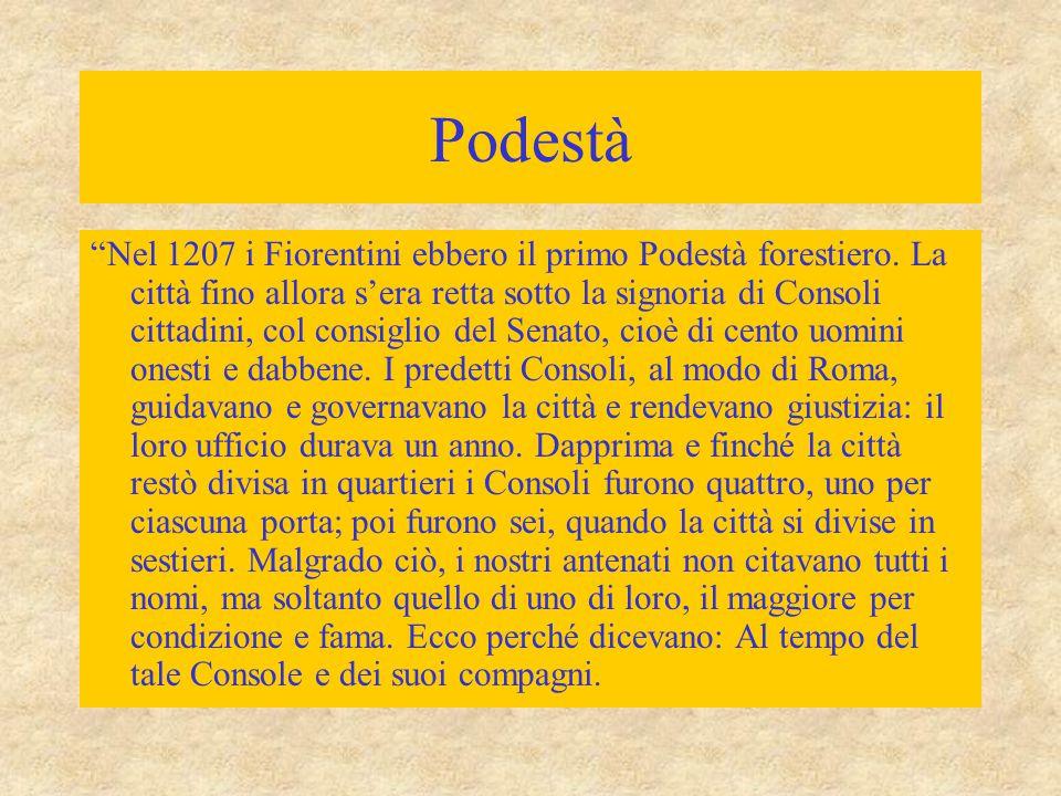 Ordinamento comunale Borghesia (popolo grasso): accresciuta potenza economica  più forte  limitazione del predominio politico dei nobili Governo dei