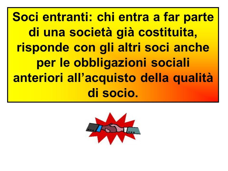 Il CREDITORE PARTICOLARE DEL SOCIO, finchè dura la società, può far valere i suoi diritti sugli UTILI spettanti al debitore.