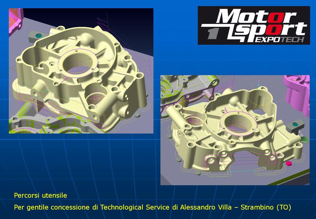 Percorsi utensile Per gentile concessione di Technological Service di Alessandro Villa – Strambino (TO)