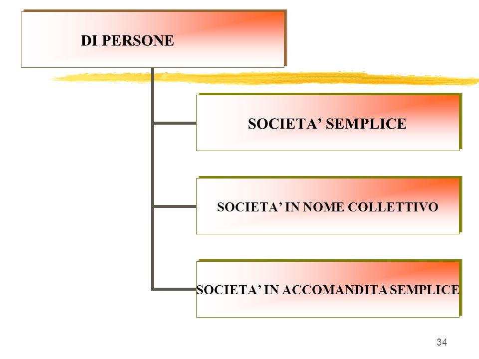 SOCIETA' DI PERSONEDI CAPITALICOOPERATIVE 33