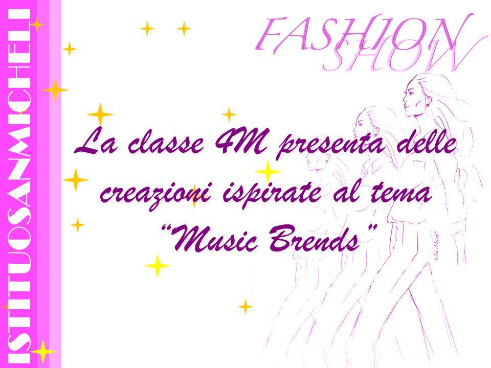 La classe 4M presenta delle creazioni ispirate al tema Music Brends ISTITUOSANMICHELI