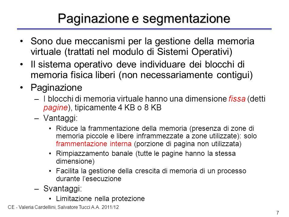 CE - Valeria Cardellini, Salvatore Tucci A.A.