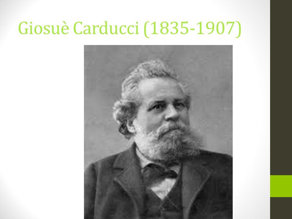 Giosuè Carducci (1835-1907)
