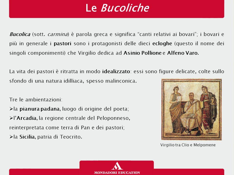 Teocrito e gli Idilli Teocrito di Siracusa è l'iniziatore della poesia bucolica e il modello con cui Virgilio, primo tra i poeti romani, decide di confrontarsi.