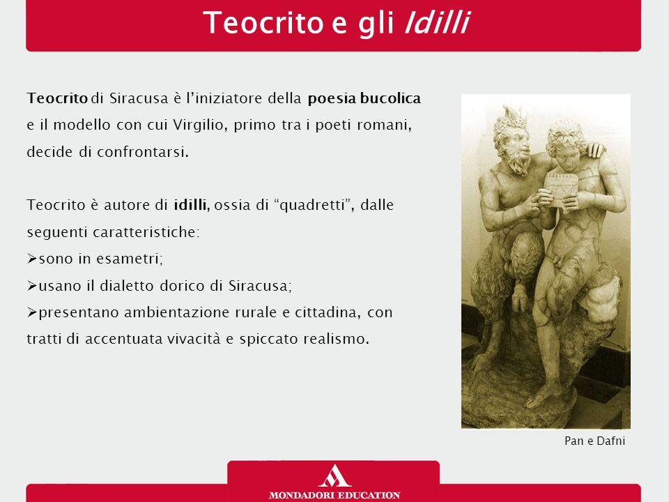La narrazione soggettiva A differenza dell'epica omerica, Virgilio adotta spesso una narrazione soggettiva, che gli consente di entrare nella coscienza dei protagonisti e di assumerne il punto di vista.