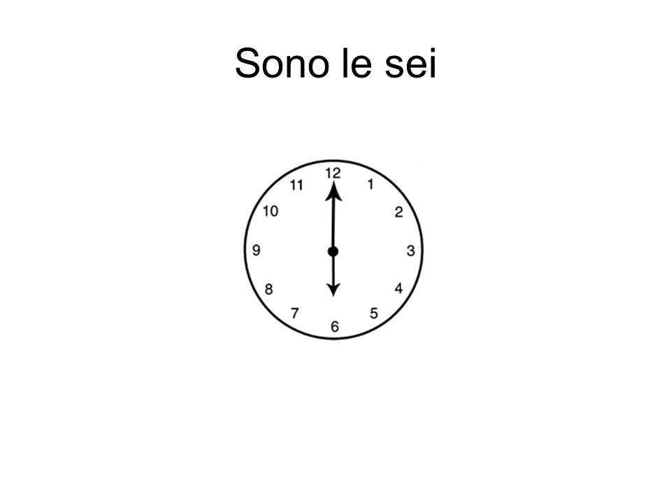 Sono le sei