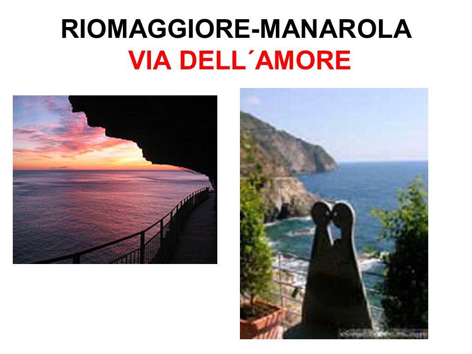 RIOMAGGIORE-MANAROLA VIA DELL´AMORE
