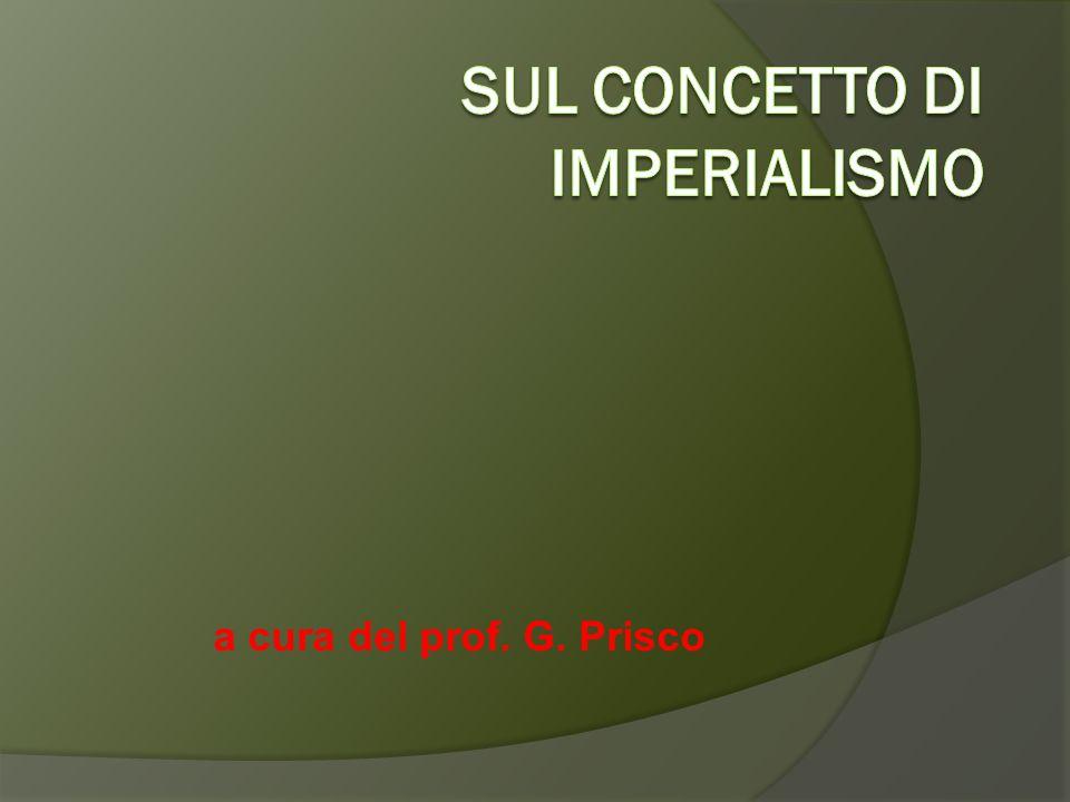 DEFINIZIONE  ( in senso più ampio)  Espansione territoriale di uno stato a spese di altri stati o nazioni sui quali stabilire il proprio dominio e costruire un impero.
